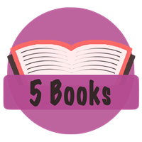 5 Books Badge
