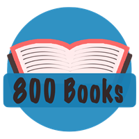 800 Books Badge